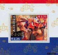 Nederlandse Antillen NA 1378  2002 Huwelijk Alexander en Máxima  cent  Postfris