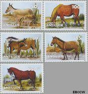 Nederlandse Antillen NA 1631#1635  2006 Dieren  cent  Postfris