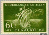 Nederlandse Antillen NA 206  1949 Ontdekking 6 cent  Gestempeld