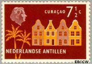 Nederlandse Antillen NA 276  1958 Landschappen 7½ cent  Gestempeld