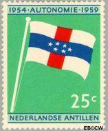Nederlandse Antillen NA 306  1959 Koninkrijks Statuut 25 cent  Gestempeld