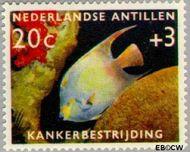 Nederlandse Antillen NA 316  1960 Kankerbestrijding 20+3 cent  Gestempeld