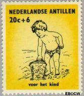 Nederlandse Antillen NA 320  1961 Kinderen 35+15 cent  Postfris