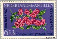 Nederlandse Antillen NA 347  1964 Bloemen 6+3 cent  Gestempeld