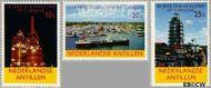 Nederlandse Antillen NA 355#357  1965 Olie-industrie  cent  Gestempeld