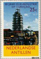 Nederlandse Antillen NA 357  1965 Olie-industrie 25 cent  Gestempeld