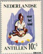Nederlandse Antillen NA 377  1966 Werken 10+5 cent  Gestempeld