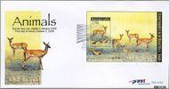 Nederlandse Antillen NA 415a  2008 Dieren 115 cent  FDC zonder adres