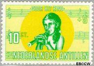 Nederlandse Antillen NA 417  1969 Kind en muziek 10+5 cent  Gestempeld