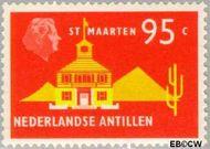 Nederlandse Antillen NA 467  1973 Landschappen 95 cent  Gestempeld