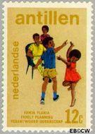 Nederlandse Antillen NA 487  1974 Verantwoord Ouderschap 12 cent  Gestempeld
