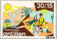 Nederlandse Antillen NA 517  1975 Creativiteit 30+15 cent  Gestempeld