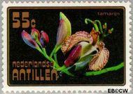 Nederlandse Antillen NA 547  1977 Bloemen 55 cent  Gestempeld