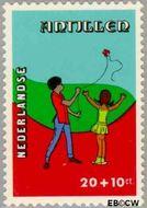 Nederlandse Antillen NA 597  1978 Kind en vrije tijd 20+10 cent  Gestempeld