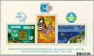 Nederlandse Antillen NA 932  1989 Band Antillen - U.S.A.  cent  Postfris