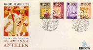 Nederlandse Antillen NA E125  1979 Jaar van het Kind  cent  FDC zonder adres