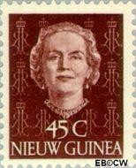 Nieuw-Guinea NG 15  1950 Type 'En Face' 45 cent  Gestempeld