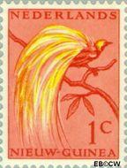 Nieuw-Guinea NG 25  1954 Paradijsvogel 1 cent  Gestempeld
