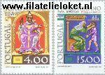 POR 1362#1363 Postfris 1977 Paus Johannes XXI