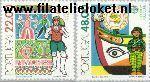 POR 1531#1532 Postfris 1981 C.E.P.T.- Folklore