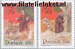 POR 1552#1553 Postfris 1982 Heilige Franz Assisi