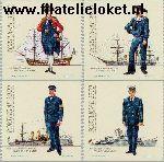 POR 1588c#1591c Postfris 1983 Militaire uniformen