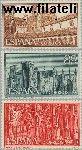 SPA 1147#1149 Postfris 1959 Kloosters en abdijen