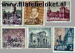 SPA 1283#1288 Postfris 1961 Madrid