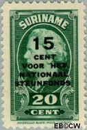 Suriname SU 216  1945 Steunfonds 20+15 cent  Gestempeld