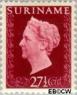 Suriname SU 267  1948 Koningin Wilhelmina 27½ cent  Gestempeld
