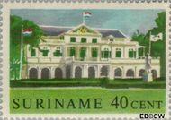 Suriname SU 367  1961 Historische gebouwen 40 cent  Gestempeld