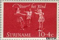 Suriname SU 415  1964 Kinderspelen 10+4 cent  Gestempeld