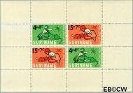 Suriname SU 435  1965 Kind en dier  cent  Gestempeld