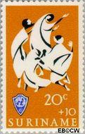 Suriname SU 455  1966 Service clubs 20+10 cent  Gestempeld