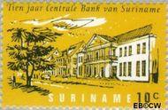 Suriname SU 475  1967 Centrale bank 10 cent  Gestempeld