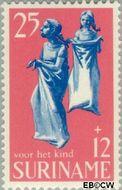 Suriname SU 525  1969 Kinderspelen 25+12 cent  Gestempeld