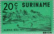 Suriname SU 575  1971 Stichting Albina 20 cent  Gestempeld