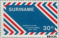 Suriname SU 585  1972 Luchtpost 30 cent  Gestempeld