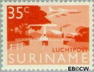 Suriname SU LP40  1965 Landschappen 35 cent  Gestempeld