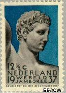 Nederland NL 295  1937 Wereld Jamboree 12½ cent  Postfris