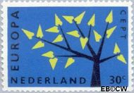 Nederland NL 778  1962 C.E.P.T.- Boom 30 cent  Postfris