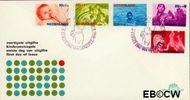 Nederland NL E81  1966 Levensstadia kind  cent  FDC zonder adres