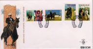 Aruba AR E57  1995 Paardensport  cent  FDC zonder adres