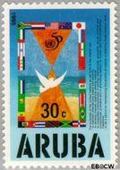 Aruba AR 154  1995 Verenigde Naties 30 cent  Gestempeld