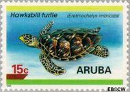 Aruba AR 164  1995 Schildpadden 10 cent  Gestempeld