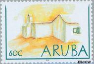 Aruba AR 295  2003 Lemen huisjes 60 cent  Gestempeld