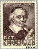 Nederland NL 298  1937 Bekende personen 6+4 cent  Gestempeld