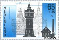 Nederland NL 1373  1987 Industriële Monumenten 65+35 cent  Gestempeld