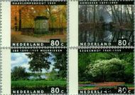 Nederland NL 1814#1817  1999 Vier jaargetijden  cent  Gestempeld