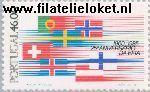 POR 1655# Postfris 1985 E.F.T.A.